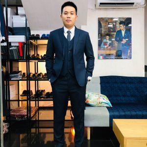 Mẫu đồng phục Vest nam Đà Nẵng 06