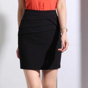 đồng phục váy công sở Đà Nẵng mẫu 01