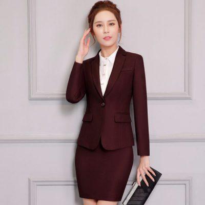 Đồng phục vest nữ Đà Nẵng mẫu 01