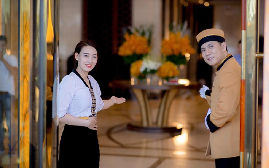 đồng phục khách sạn đà nẵng giá rẻ