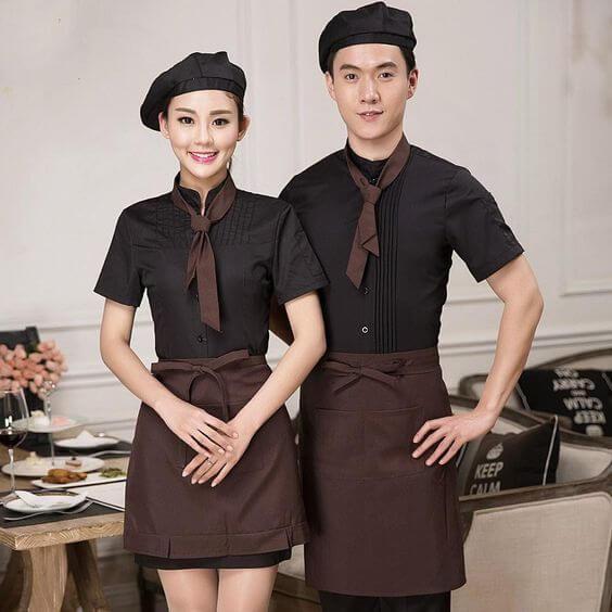 áo đồng phục nhà hàng đà nẵng