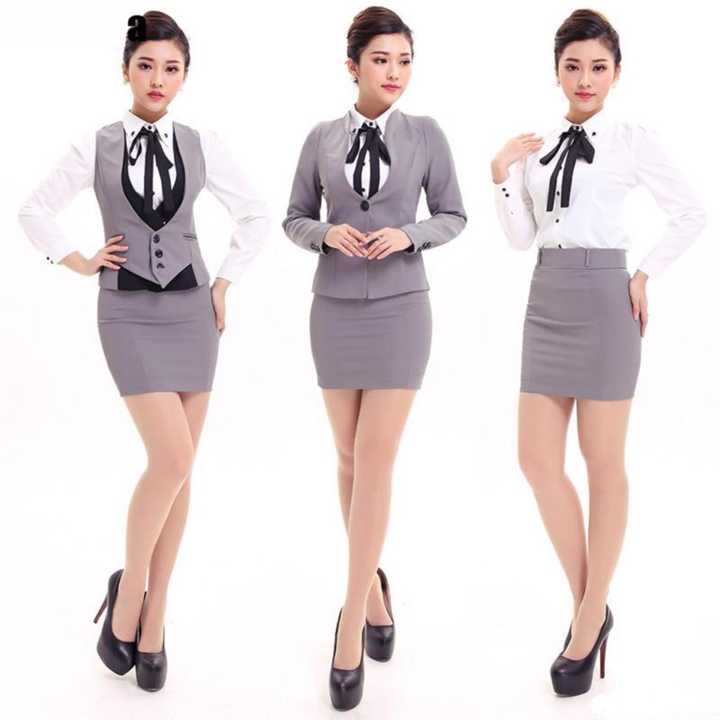 trang phục váy công sở đà nẵng