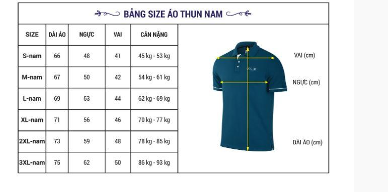 xưởng may đồng phục áo thun nam đà nẵng