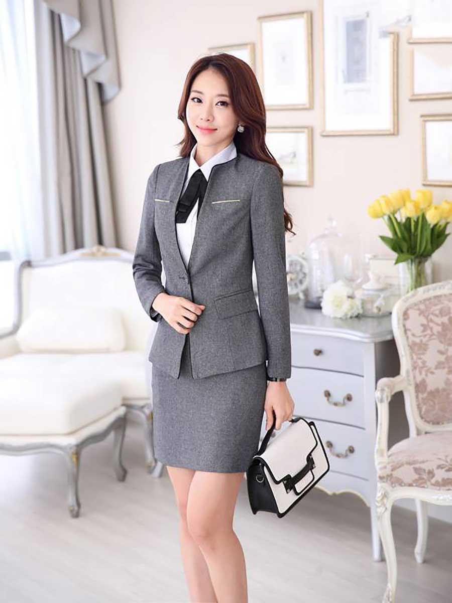 Đồng phục vest nữ đà nẵng đẹp