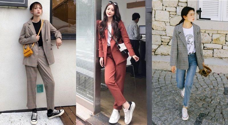 Cá tính với set váy màu sắc năng động và giày